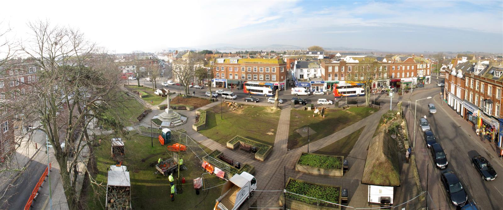 Exmouth Strand Gardens