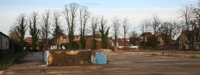 Pre-development site